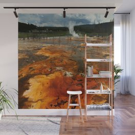 Awesome Geyser Colors Wall Mural