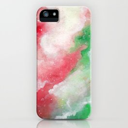 Holly Galaxy iPhone Case