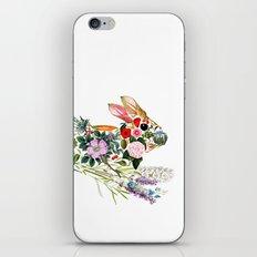 Botanical Rabbit iPhone & iPod Skin