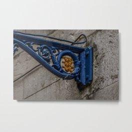 Board of Ordinance Symbol on Lamp Post Tower of London Metal Print
