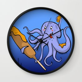 Tako Dog Wall Clock
