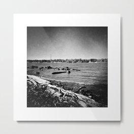 Ohio River: Ritual Metal Print