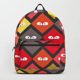 Cute foxes watching you Backpack