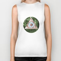 not all those who wander are lost Biker Tanks featuring Not all those who wander are lost by Neil Thomas
