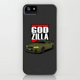 SKYLINE GTR R34 iPhone Case