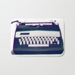 typing Bath Mat