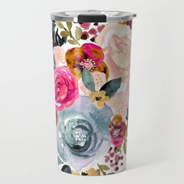 Autumn Rose Travel Mug
