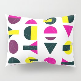 rasberry and lemon with litlle darkness Pillow Sham