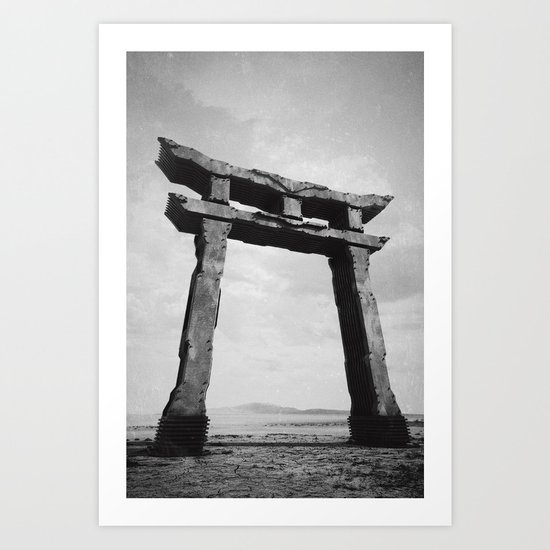 Shrine Gate Art Print