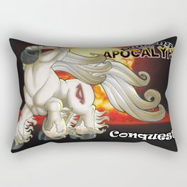 Demons of the Apocalypse - Conquest Rectangular Pillow