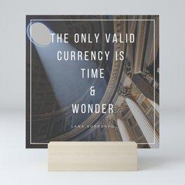 Time & Wonder Mini Art Print