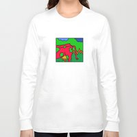 cows Long Sleeve T-shirts featuring COWS 3 by Stefan Stettner