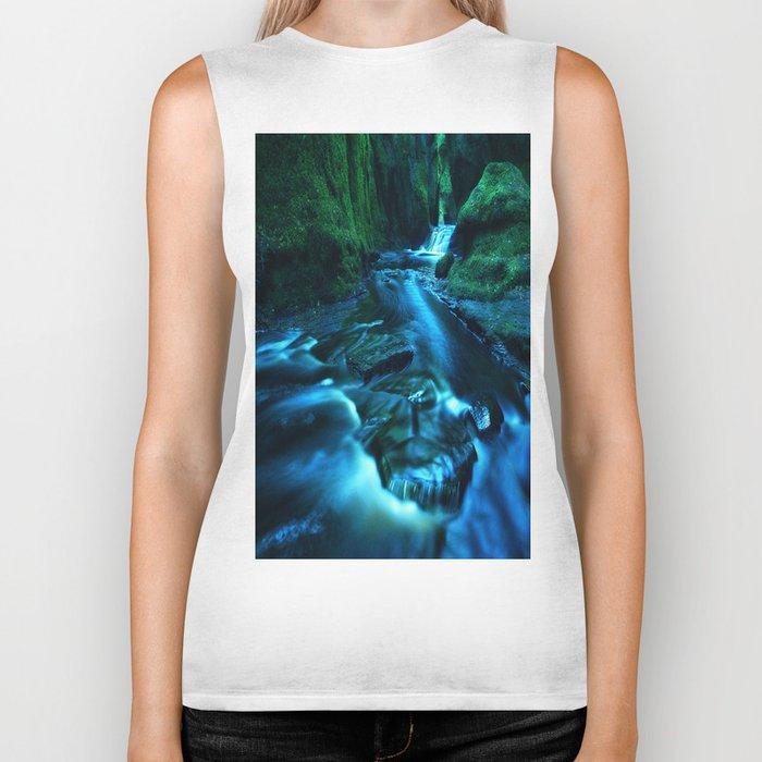 Mystic Waterfall Biker Tank