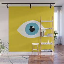 eye open Wall Mural
