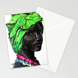 African Beauty Stationery Cards