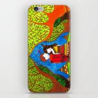 pocahontas iPhone & iPod Skins featuring Pocahontas by Sandra Nascimento