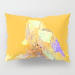 YELLOW QUARTZ CRYSTAL GOLDEN COLOR DESIGN Pillow Sham