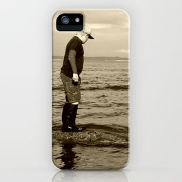 A Boy and The Sea iPhone Case
