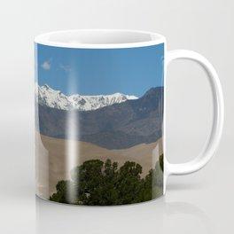 Great Sand Dunes and Mount Herard Coffee Mug