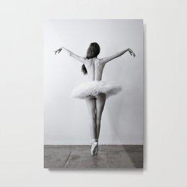 The Dying Swan Metal Print