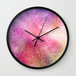 Prismatic Spectrum Wall Clock