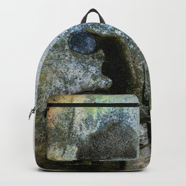 vintage instant print type 55 black and white Backpack