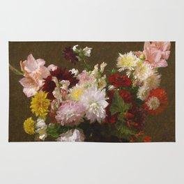 Henri Fantin Latour - Flowers Rug