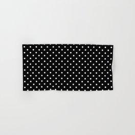 Dots (White/Black) Hand & Bath Towel