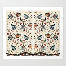 Vintage Tapestry Art Print
