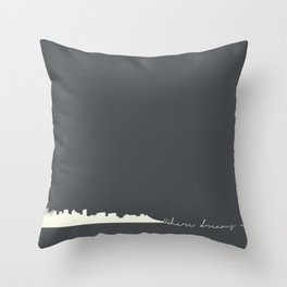 Where dreams are made Throw Pillow
