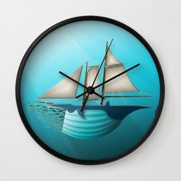 Great Fisherman Wall Clock
