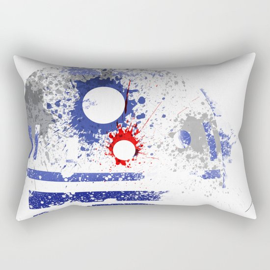 Astromech Deetoo Rectangular Pillow