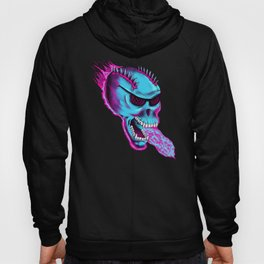 Sonic Skull - Blue Mayhem Hoody
