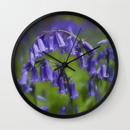 Bluebell Arch Wall Clock