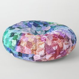 REALLY MERMAID FUNKY Floor Pillow