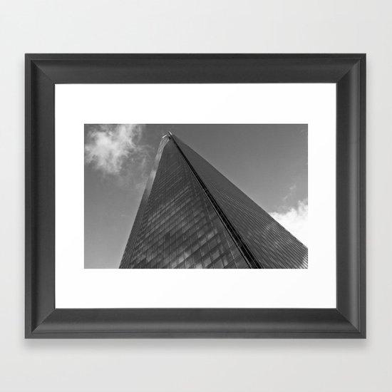 The Shard London Framed Art Print