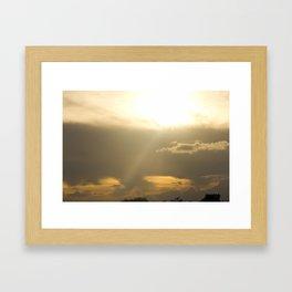 Heaven's Light Framed Art Print