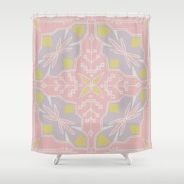 Tribal Square Shower Curtain