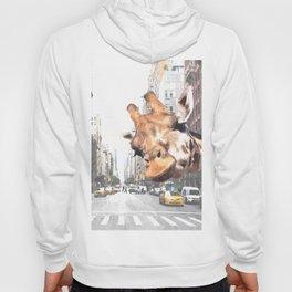Selfie Giraffe in New York Hoody