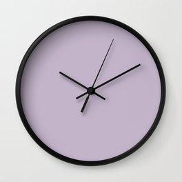 Gardener's Bouquet ~ Smoky Lilac Wall Clock