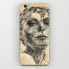 Calavera - two iPhone Skin