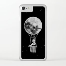 Night Flight Clear iPhone Case