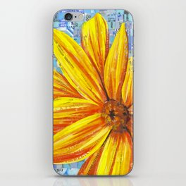 Sunflower Mosaic iPhone Skin