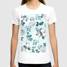 Night bloom - moonlit mint T-shirt