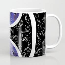 Inverted Two of Microbes Coffee Mug