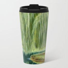Under The Willow Tree by Sarah Batalka Travel Mug