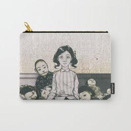 Japanese Dolls - Line Carry-All Pouch