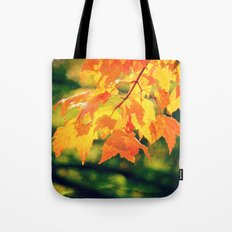 Lovely Yellow Leaves Tote Bag