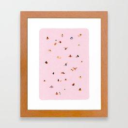 Pink! Framed Art Print