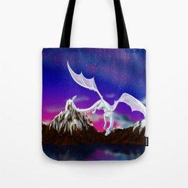 Dragon of the Stars - Itisha the Dragoness Tote Bag